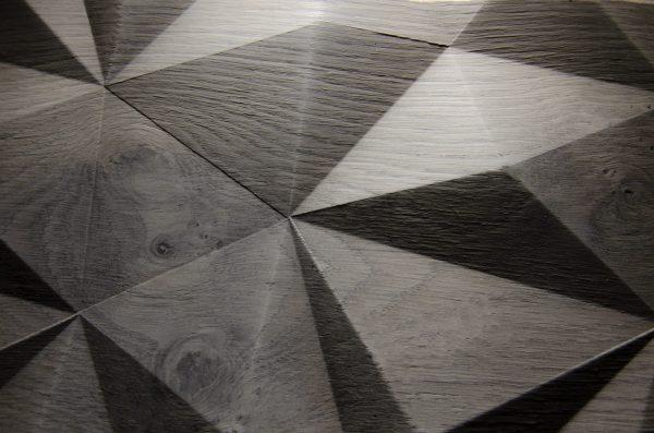 2551 - BIG DIAMOND - Eiche grau - Echtholzfurnier