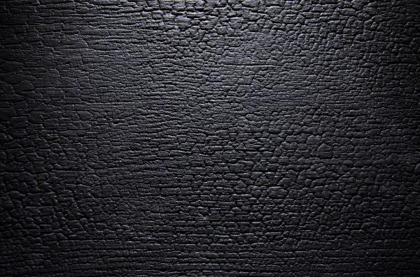 2588 - BURNED WOOD - Schwarz klar matt lackiert - Alpi Furnier