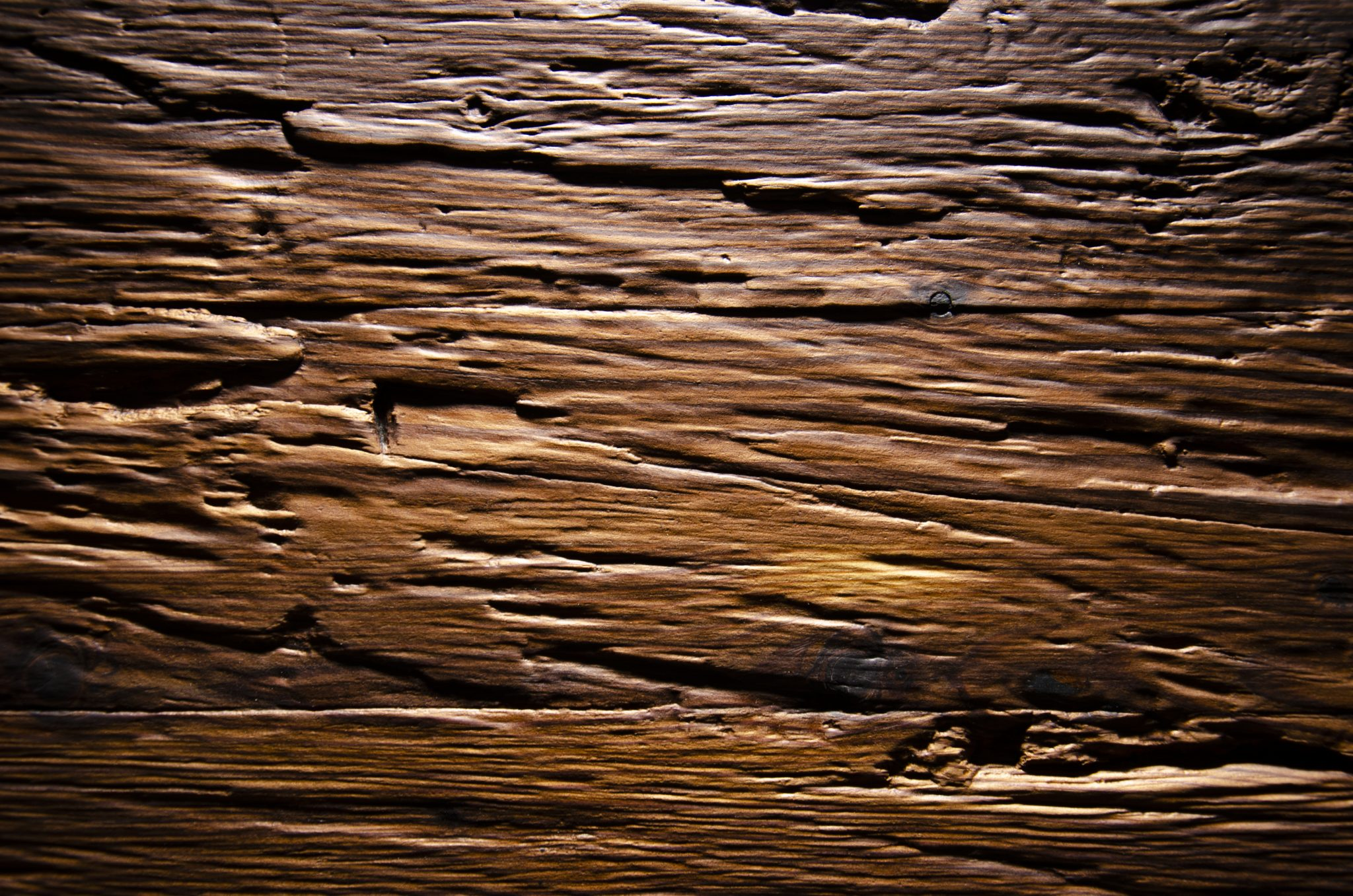 2590 - CHOPPED WOOD - Larch smoked - Real wood veneer