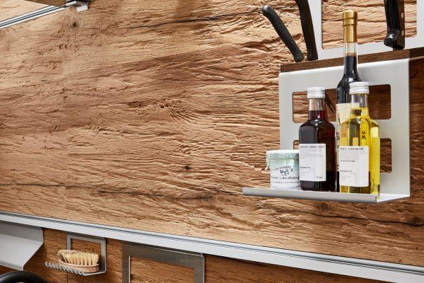 Chopped Wood Küche Altholz bearbeitet