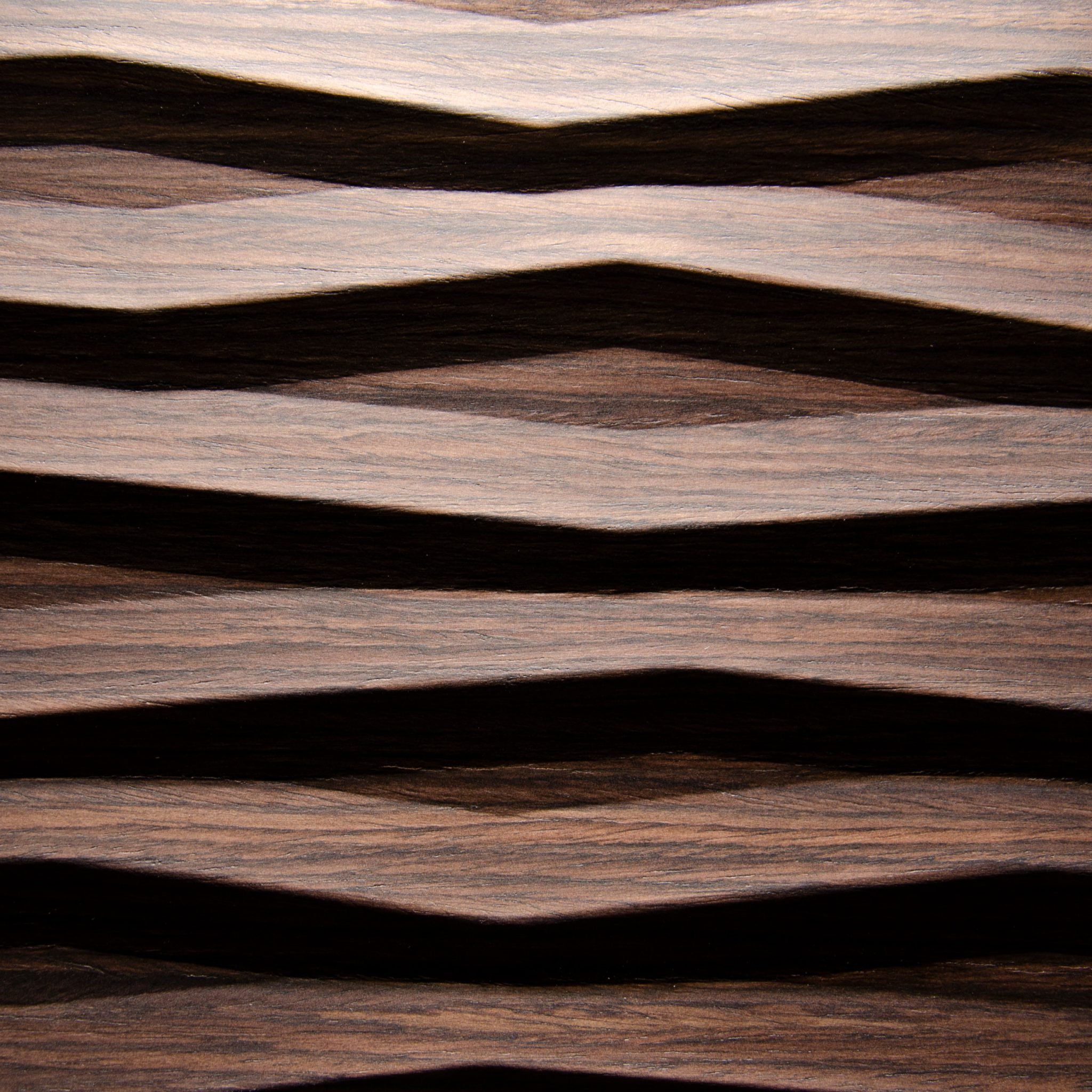 2369 - FLAME - Heartwood walnut - Real wood veneer