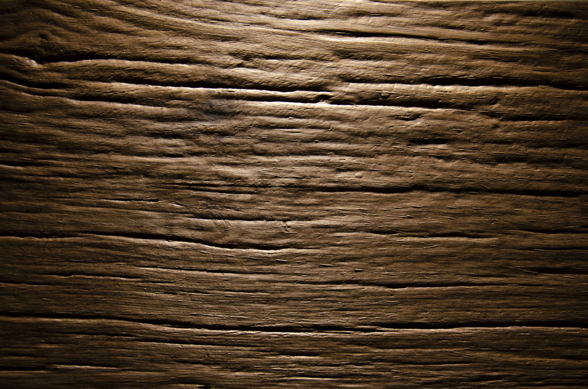 2578 - ROUGH OLD WOOD - Oak smoked - Real wood veneer