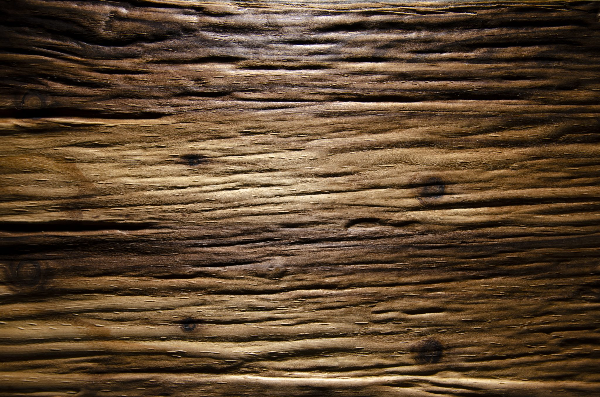 2578 - ROUGH OLD WOOD - Larch smoked - Real wood veneer