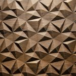 2561 - SMALL DIAMOND - Oak smoked - Real wood veneer