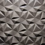 2561 - SMALL DIAMOND - Oak grey - Real wood veneer