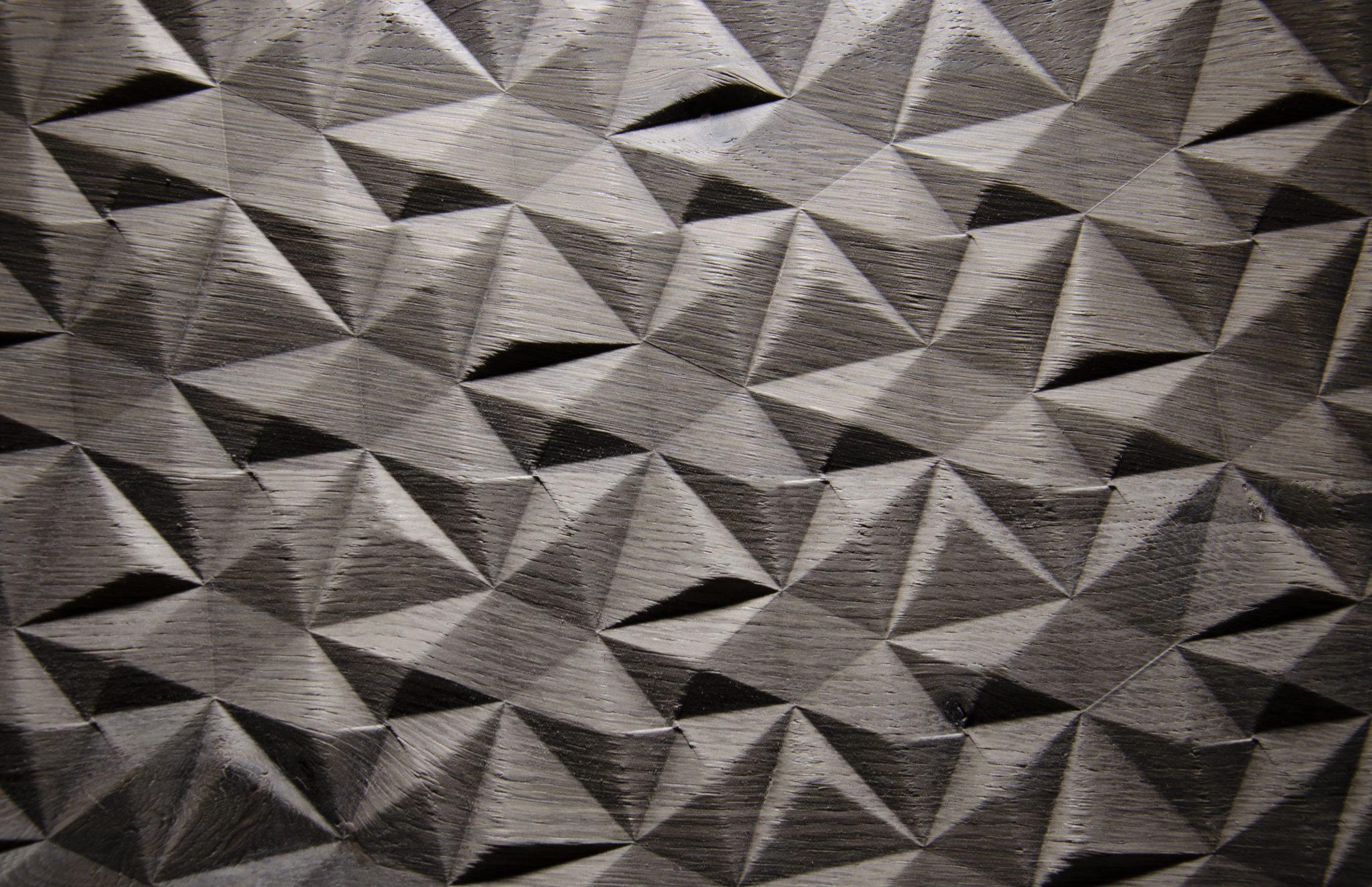2561 - SMALL DIAMOND - Eiche grau - Echtholzfurnier