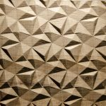2561 - SMALL DIAMOND - Oak nature - Real wood veneer