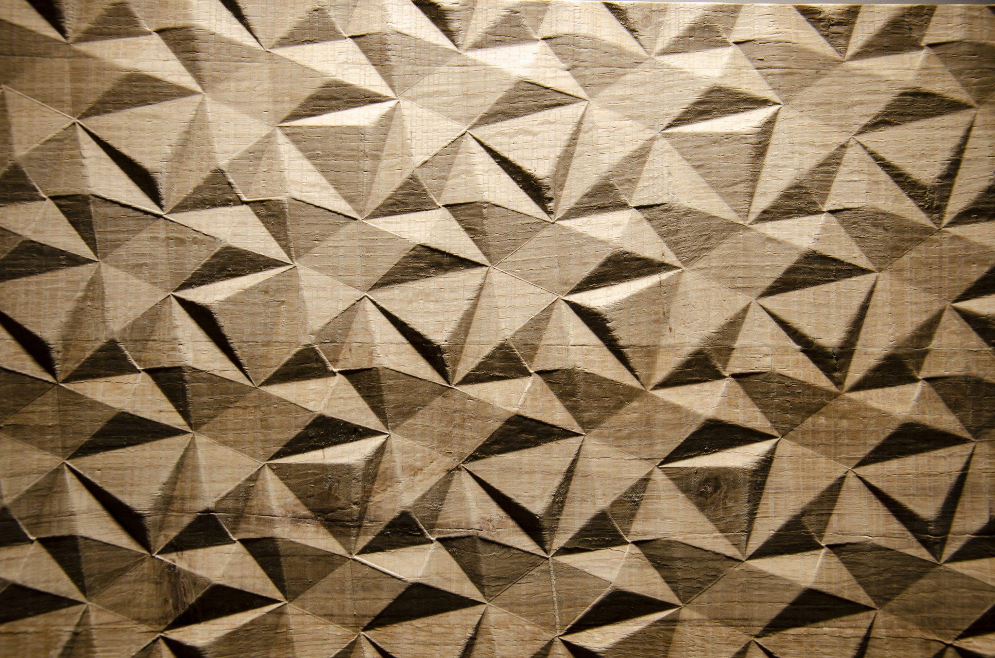 2561 - SMALL DIAMOND - Eiche natur - Echtholzfurnier