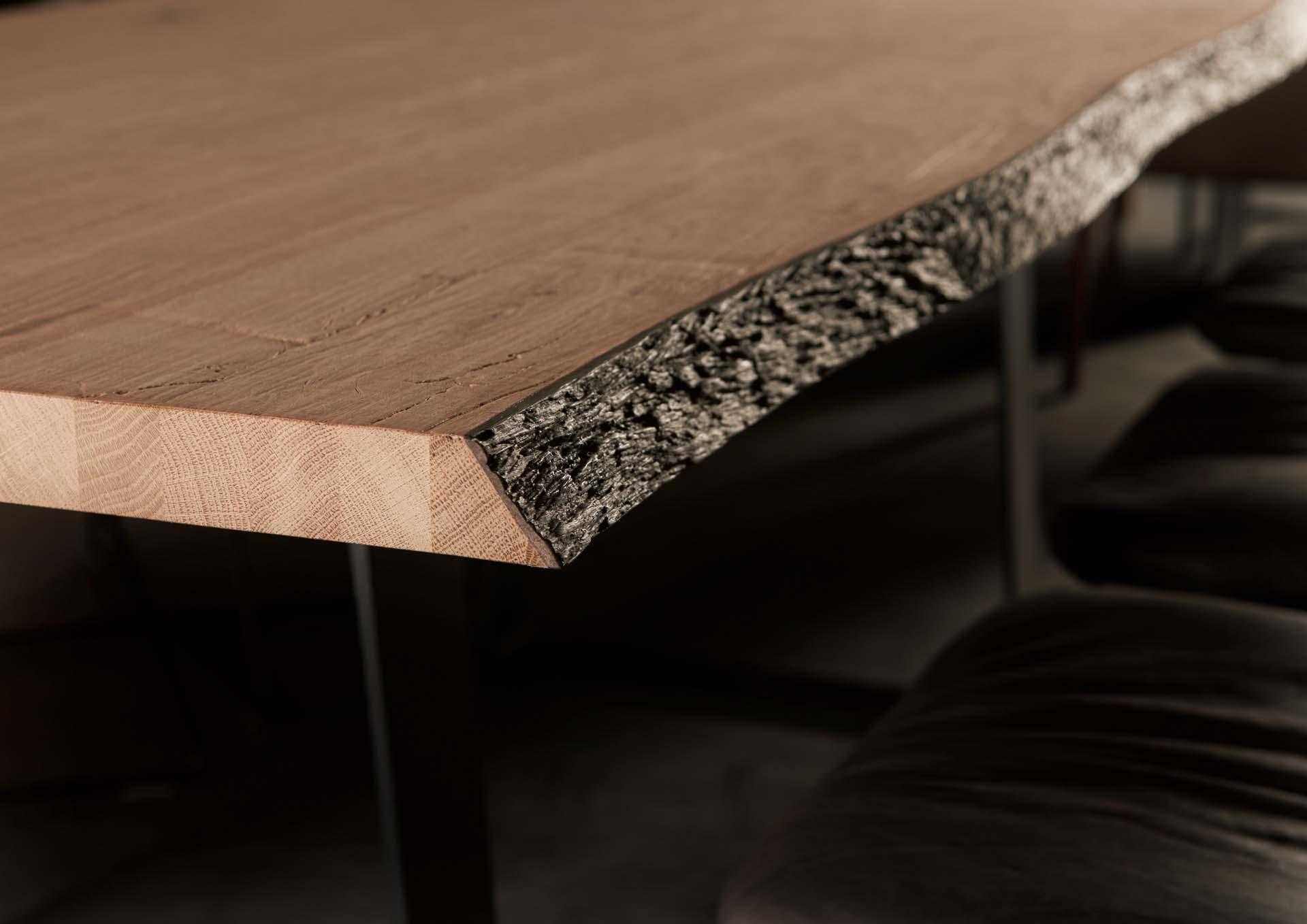 Old Nature Tischplatte Holz in Form
