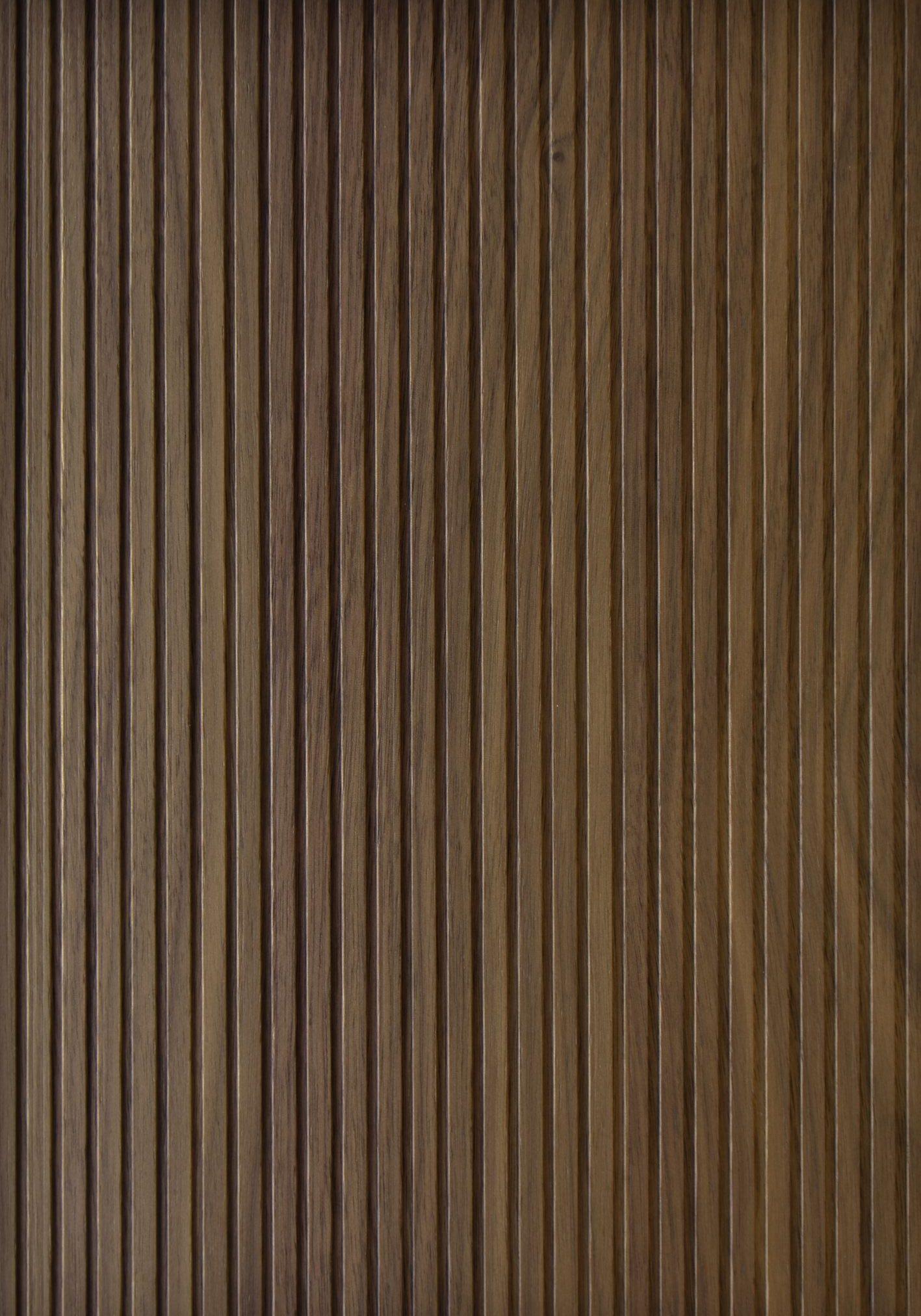 2610 - LIGHT - Heartwood walnut - Real wood veneer