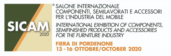 Sicam - 13th - 16th of October 2020 - Hall 10 - Booth A20 - Pordenone, Italy