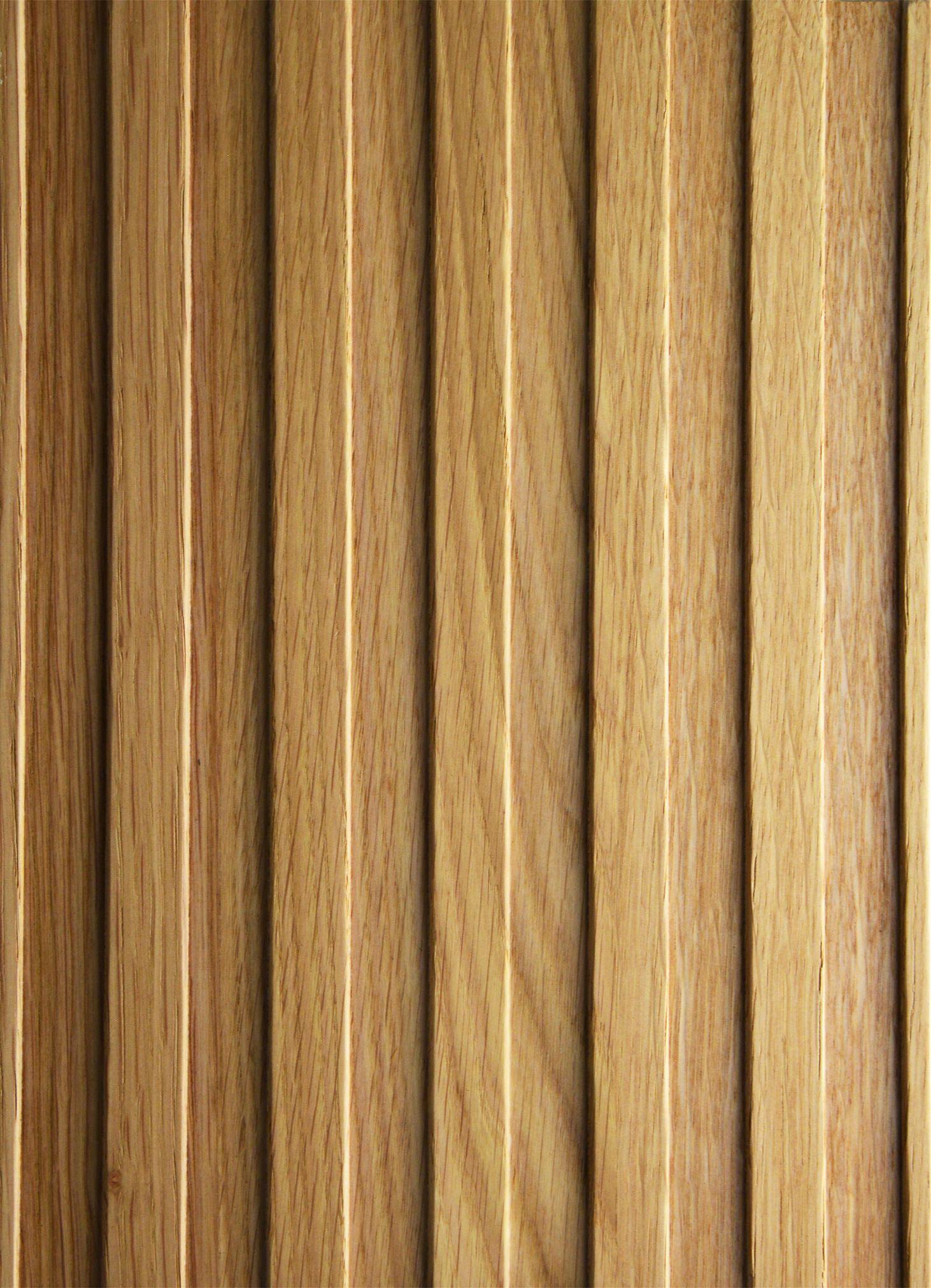 2643 - Straight - Knob Oak - Real wood veneer