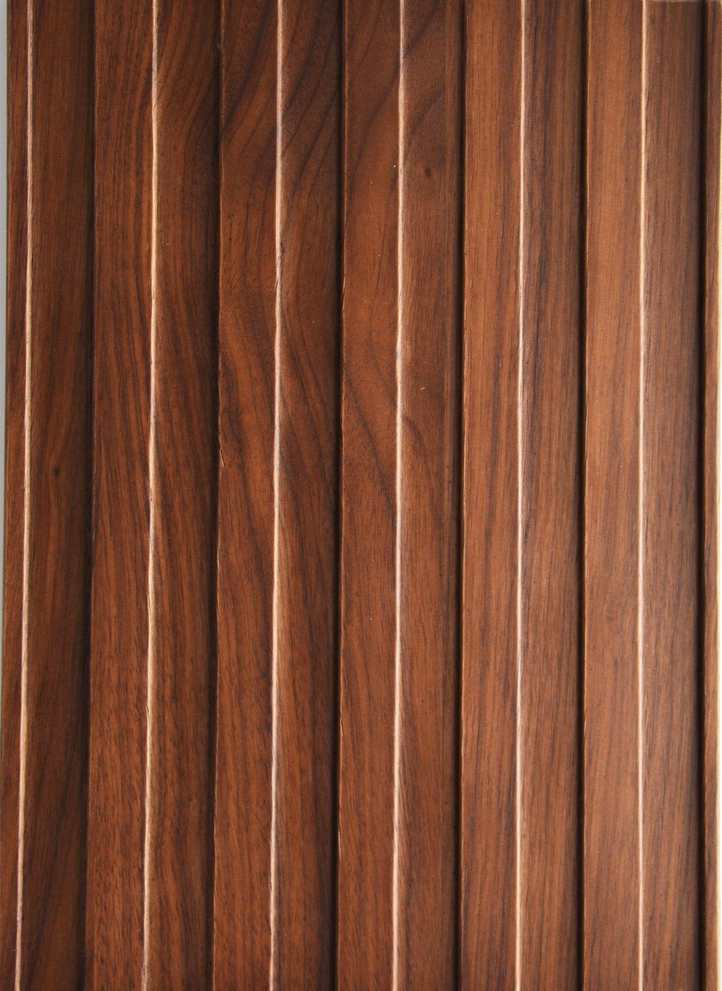 2643 - Straight - Heartwood walnut - Real wood veneer